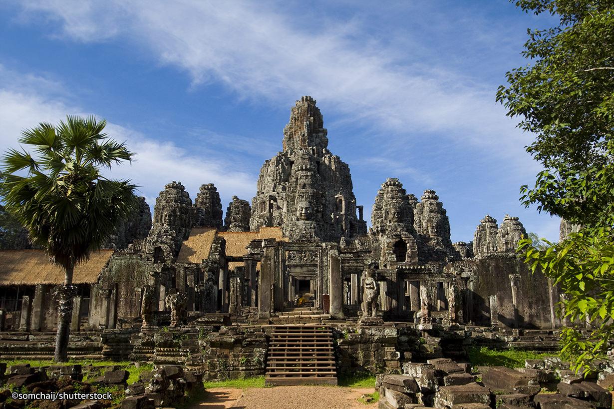 Angkor Temples- Angkor Wat, Bayon, Ta Prohm, Angkor Thom, Angkor Archaeological Park.